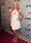"Julianne Hough In Pamella Roland - Search for ""The 9"" Next Milk Mustache Stars Launch"