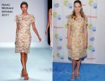 """Hilary Swank In Isaac Mizrahi - American Cancer Society """"Choose You"""" Preview"""