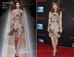 "Rose Byrne In Valentino - ""Damages"" Season 4 New York Premiere"