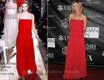 Uma Thurman In Valentino Couture - The Urban Zen Stephan Weiss Apple Awards