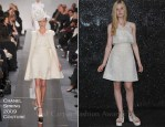 Elle Fanning In Chanel Couture - Front Row @ Chanel Couture