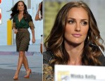 "Minka Kelly In Etro - ""Charlie's Angels"" Panel: Comic-Con 2011"