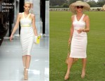 Nicollette Sheridan In Versace - The Foundation Polo Challenge