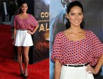 "Olivia Munn In Tucker and ASOS - ""Cowboys and Aliens"" World Premiere"