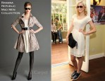 Jaime King In Banana Republic Mad Men Collection - Carrera Sunglasses Escape LA