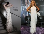 """Beyonce Knowles In Lanvin - """"Pulse"""" Fragrance Launch"""