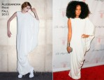 Solange Knowles In Alessandra Rich - 2011 Angel Ball