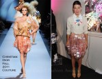 Camille Miceli In Christian Dior Couture - Playing Around With The World Of Dior Accessories Event