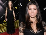 Jessica Biel In Valentino - 6th Annual Charity: Ball Benefiting charity:water