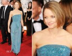 Jodie Foster In Giorgio Armani - 2012 Golden Globe Awards