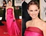 Natalie Portman In Lanvin - 2012 Golden Globe Awards