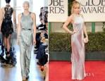 Nicole Richie In Julien MAcDonald - 2012 Golden Globe Awards