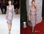 Jessica Chastain In Alexander McQueen - 'Vanities' 20th Anniversary Party