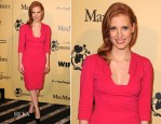 Jessica Chastain In Elie Saab - 5th Annual Women In Film Pre-Oscar Cocktail Party