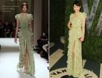 Olga Kurylenko In Georges Hobeika Couture - 2012 Vanity Fair Oscar Party