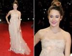 Shailene Woodley In Dolce & Gabbana - 2012 BAFTA Awards