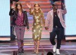 Jennifer Lopez In Dolce & Gabbana - America Idol Season 11 Top 12 To 11 Live Elimination Show