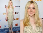 Dakota Fanning In Vintage Halston - 2012 GLAAD Media Awards