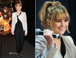 Jennifer Lawrence In Elie Saab, Helmut Lang and H&M – 'The Hunger Games' Mall Tour