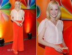 Anne Heche In MaxMara – NBC Upfront Presentation