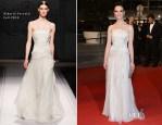 Marta Gastini In Alberta Ferretti - 'Dario Argento's Dracula 3D' Cannes Film Festival Premiere