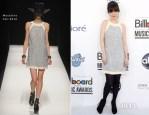 Zooey Deschanel In Moschino - 2012 Billboard Music Awards