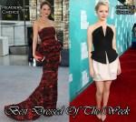 Best Dressed Of The Week - Devon Aoki In Alice + Olivia  & Emma Stone In Martin Grant