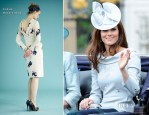 Catherine, Duchess of Cambridge In Erdem - Trooping The Colour 2012
