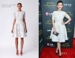 Ginnifer Goodwin In Monique Lhuillier -  2012 Young Hollywood Awards
