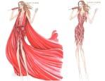 Jennifer Lopez' Tour Wardrobe Designed by Zuhair Murad