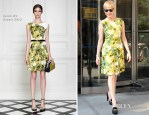 Michelle Williams In Jason Wu - CBS This Morning
