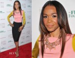 Michelle Williams In Moschino Cheap and Chic - 2012 Clarins Million Meals Concert For FEED