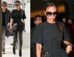 Victoria Beckham In Celine - LAX