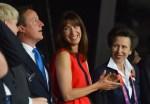 Samantha Cameron In Roksanda Ilincic - 2012 Olympics Opening Ceremony