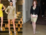 Christina Hendricks In Atelier Versace - Atelier Versace Fall 2012 Fashion Show