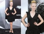 Juno Temple In Miu Miu - 'The Dark Knight Rises' New York Premiere