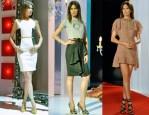 Nieves Alvarez In David Delfin, Burberry Prorsum & Nina Ricci - Solo Moda