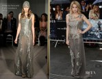 Peaches Geldof In Alberta Ferretti - 'The Dark Knight Rises' London Premiere