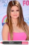 Selena Gomez' Avon Look At The Teen Choice Awards
