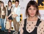 Alexa Chung In Zara - 'Celeste and Jesse' New York Premiere