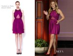 Kristen Bell In Cushnie et Ochs - The Tonight Show with Jay Leno