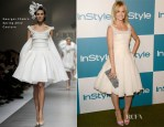 Mena Suvari In Georges Chakra Couture - 11th Annual InStyle Summer Soiree