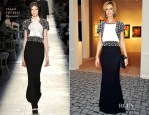 Anna Mouglalis In Chanel Couture - 26th Biennale des Antiquaires Opening Gala Dinner