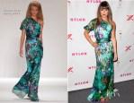 Lea Michele In Naeem Khan - NYLON's September TV Issue Launch Party