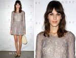 Alexa Chung In Lover - Foundry Launch Party