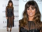 Lea Michele In Zimmermann - Elle's 19th Annual Women In Hollywood Celebration