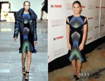 Olivia Munn In Peter Pilotto - 2012 Courage in Journalism Awards