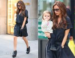 Victoria Beckham In Balenciaga - Out In New York City