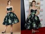 Amy Adams In Dolce & Gabbana - 'On The Road' AFI Fest Premiere
