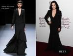 Dita von Teese In Jenny Packham - 2012 British Fashion Awards